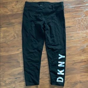 Dkny sport yoga leggings size large